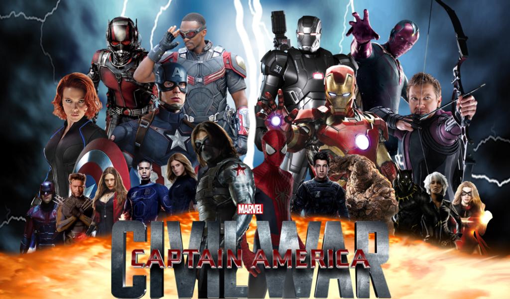 دانلود فیلم Captain America Civil War 2016 با دوبله فارسی